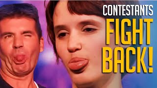 10 ANGRIEST Contestants Who FIGHT With The Judges on Talent Shows! Watch What Happens...