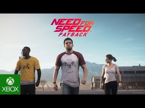 Need for Speed Payback Official Story Trailer