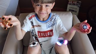 Fidget Spinners Tricks by Sammie - Getting New Toys