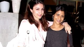 Soha Ali Khan and Konkona Sen Sharma Partying Together | Bollywood Buzz