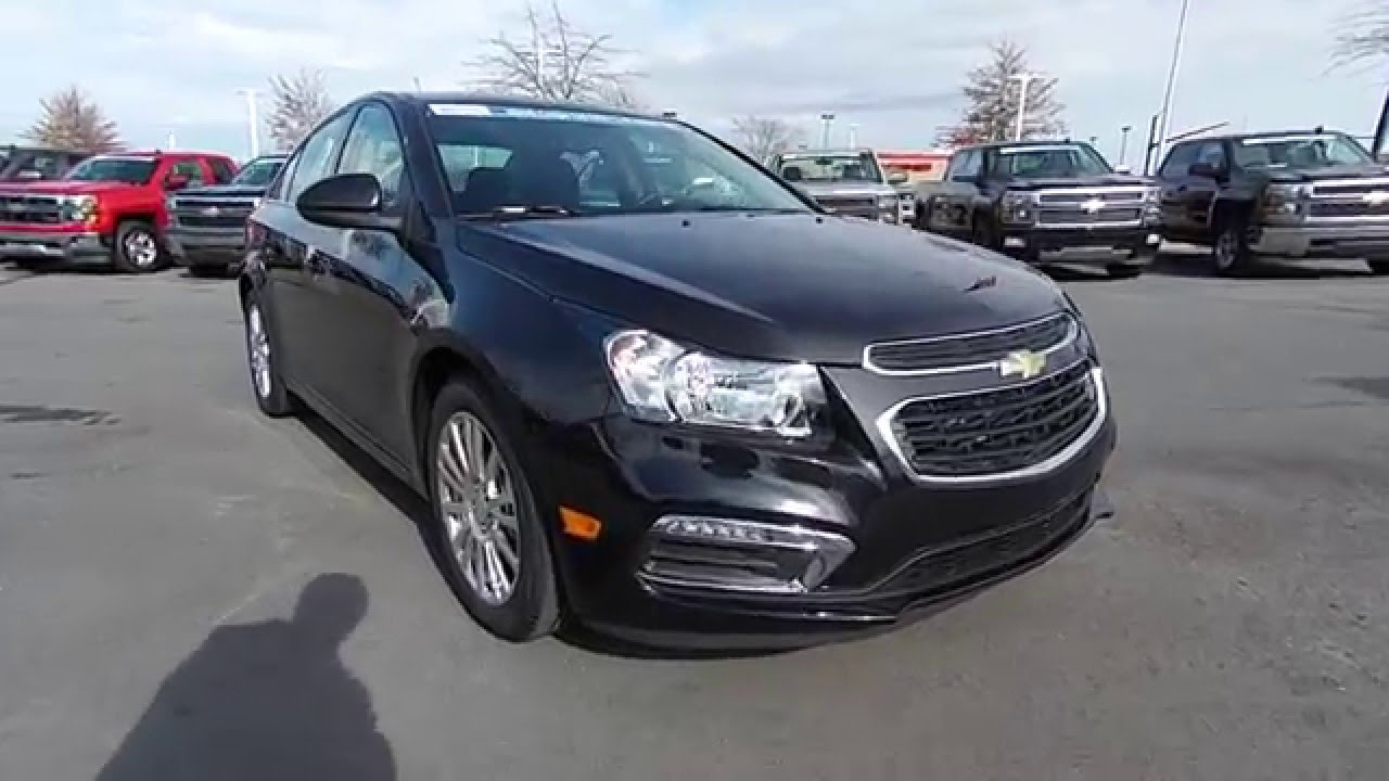 2016 Chevrolet Cruze Eco Black Granite Burns Cadillac Rock Hill Sc Charlotte Nc