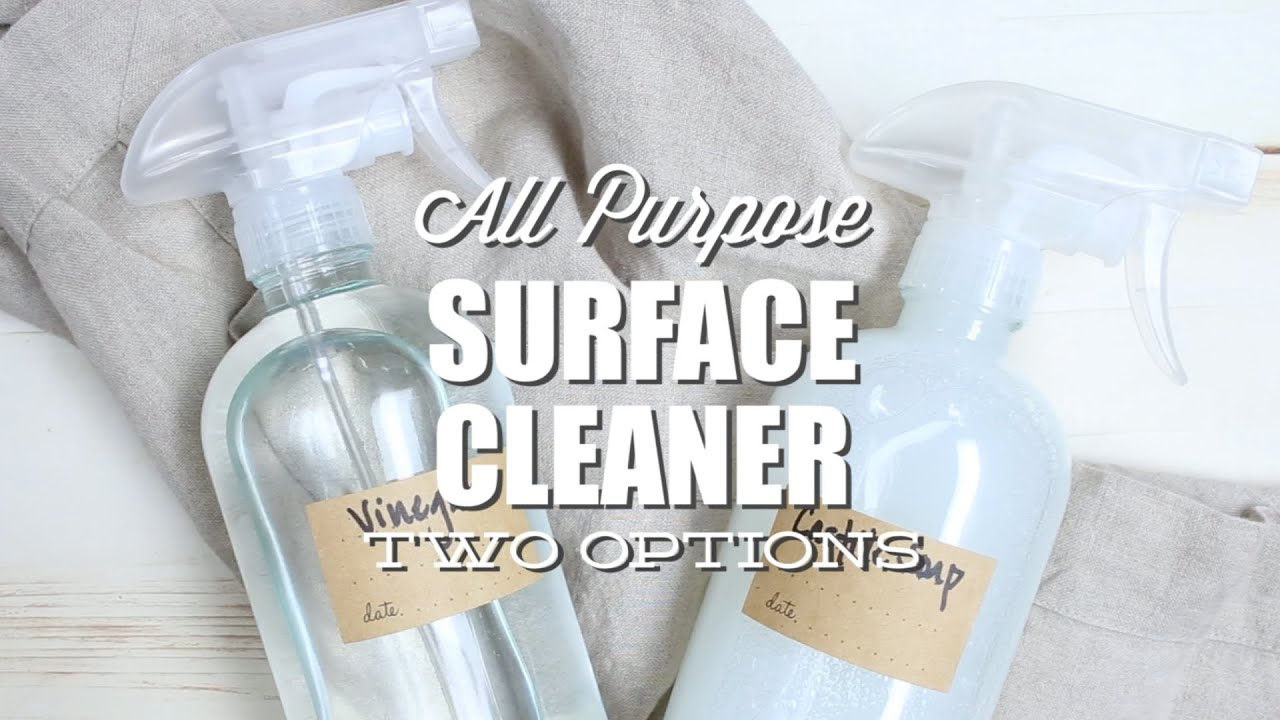 DIY All-Natural Surface Cleaner: Two Ways - YouTube
