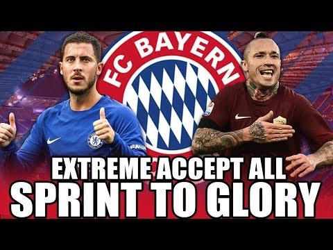 ALLES ANNEHMEN UND CL GEWINNEN !! 😱🏆   FIFA 18: FC BAYERN ACCEPT ALL SPRINT TO GLORY KARRIERE