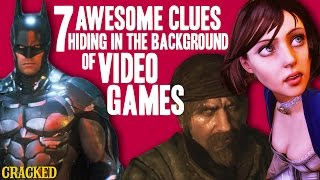 7 Awesome Clues Hiding In The Background Of Video Games