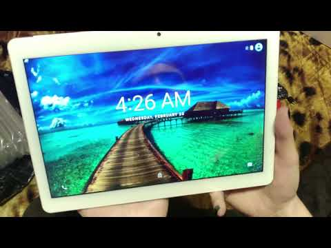 Распаковка и обзор планшета ANRY X20 с Aliexpress