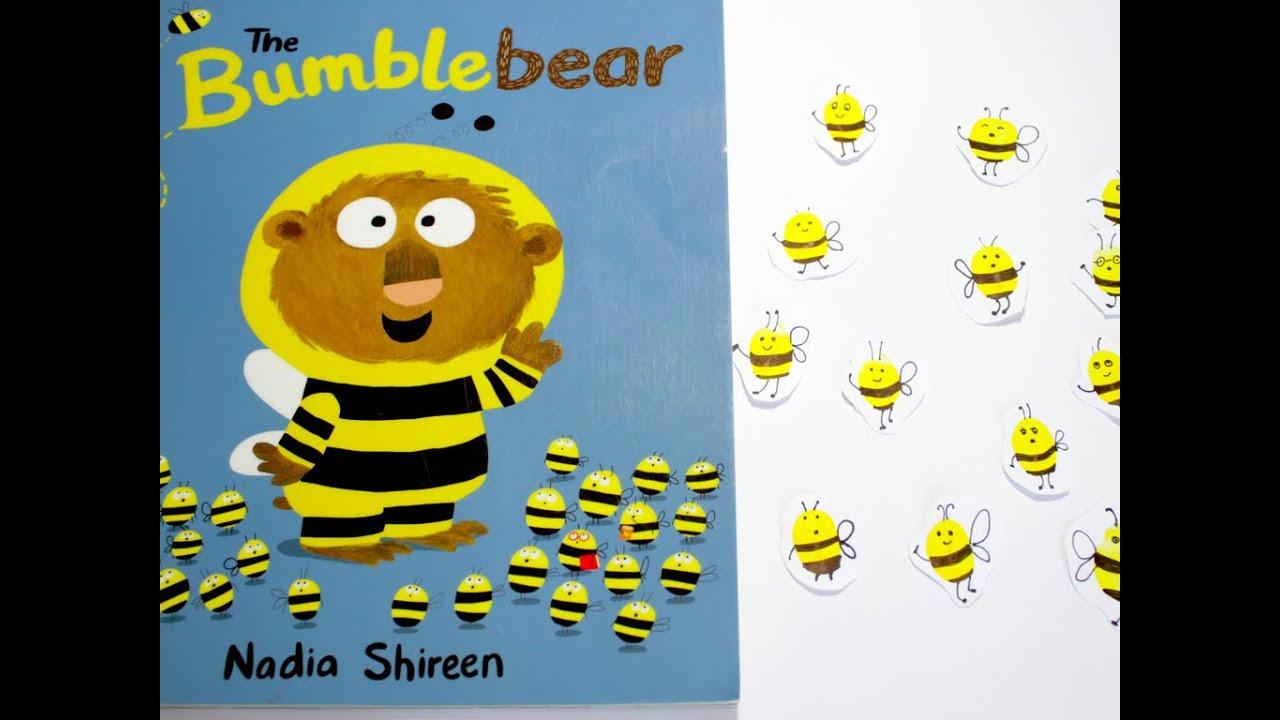 Craft bumble bee - Fingerprint Bumble Bees Kids Crafts