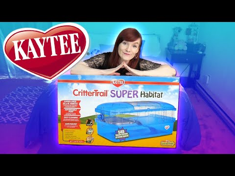 Good Cage Unboxing Review   Kaytee Crittertrail