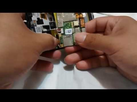desarmar cambiar bateria alcatel one touch idol ultra
