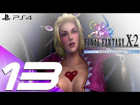 Final Fantasy X-2 HD Remaster PS4 - Walkthrough Part 13 - Leblanc Chateau