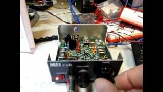 Cooking | 80 MFJ Cub 40m QRP CW Transceiver circuit walk thru and review, plus bandsweep, ham radio MFJ 9340