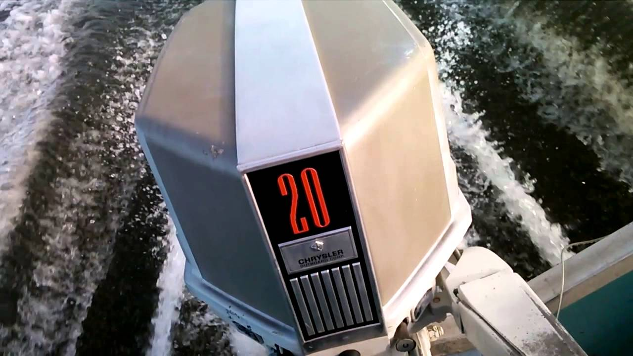 1973 Chrysler 20hp Classic Outboard Youtube