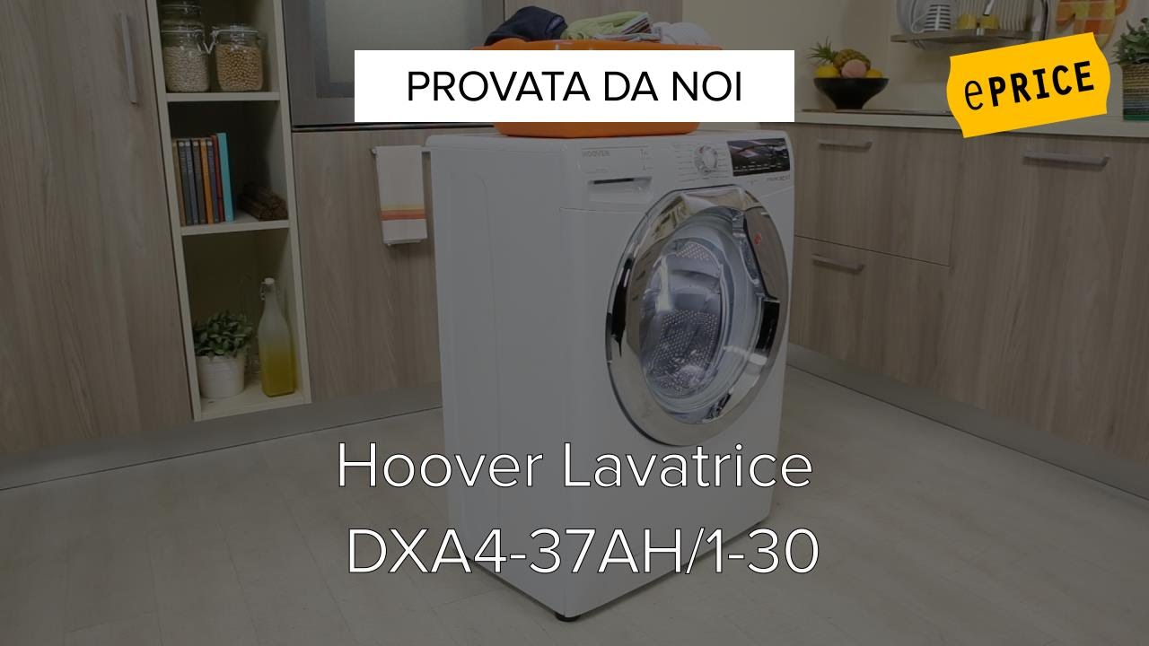 Video Recensione Lavatrice Hoover Dxaah With Lavasciuga Candy Alis Opinioni.