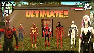 GTA San Andreas Android: Ultimate SpiderMan ModPack