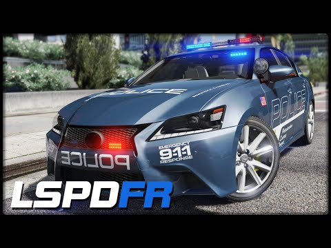 GTA 5 LSPD:FR #54 [GER/2K] Hot Pursuit Lexus GS 350 - Deutsch - Grand Theft Auto 5 LSPDFR