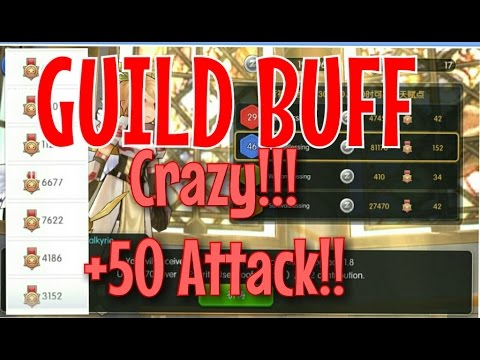 Ragnarok Mobile: Guild Buff Tutorial