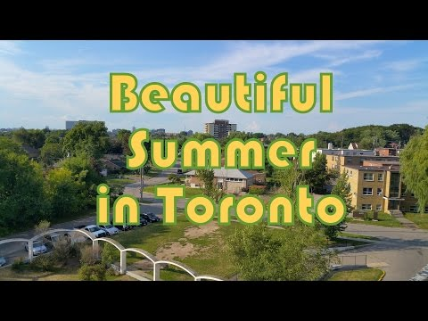 Summer time in Toronto