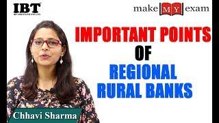 Important Points of Regional Rural Banks (RRBs) - Chhavi sharma 2017 Video