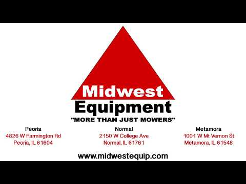 Midwest Equipment Normal IL Location Tour! Lawn Mowers & Outdoor Power Equipment in Normal IL!