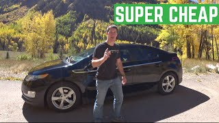 Is The CHEVY VOLT The Cheapest $15,000 Car To Drive?