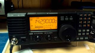 icom ic 718 review