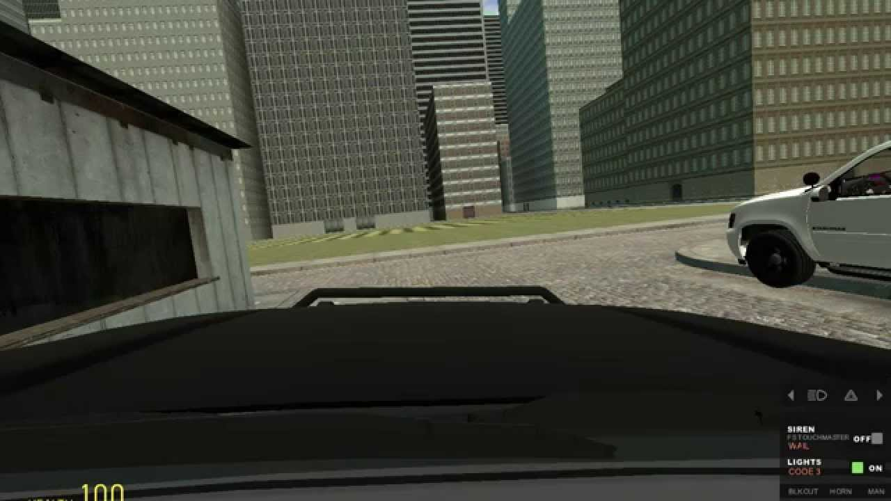 how to get in a vehicle in gmod