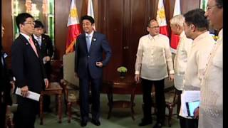 Courtesy Call of Prime Minister Shinzo Abe of Japan 7/27/2013