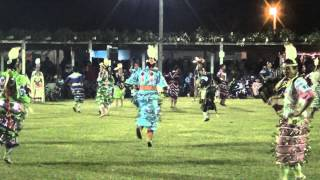 Jr. Womens Jingle @ Rocky Boy Powwow 2015 (Song 2)