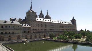 Real Sitio de San Lorenzo de El Escorial bei Madrid - Spanien