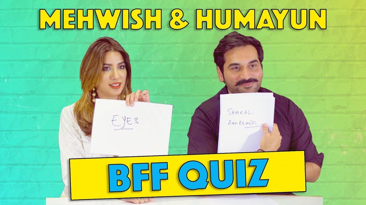 Best Friends Forever (BFF) Quiz with Humayun Saeed & Mehwish Hayat | MangoBaaz