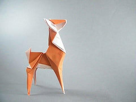 Origami Deer By Fabiana Sanapanya