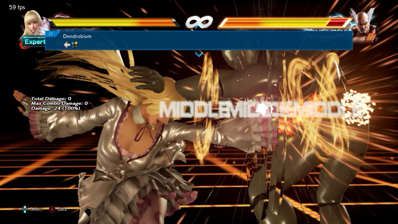 Tekken 7 - Lili Move List