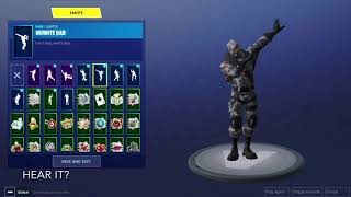 INFINITE DAB SECRET - Fortnite Secret dans l'Emote Dab Infini