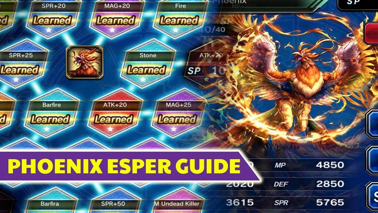 [FFBE] Final Fantasy Brave Exvius - Bahamut Esper Guide ...