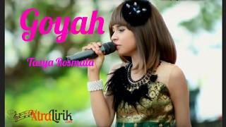 Gambar cover Goyah ( Lirik ) - Tasya Rosmala