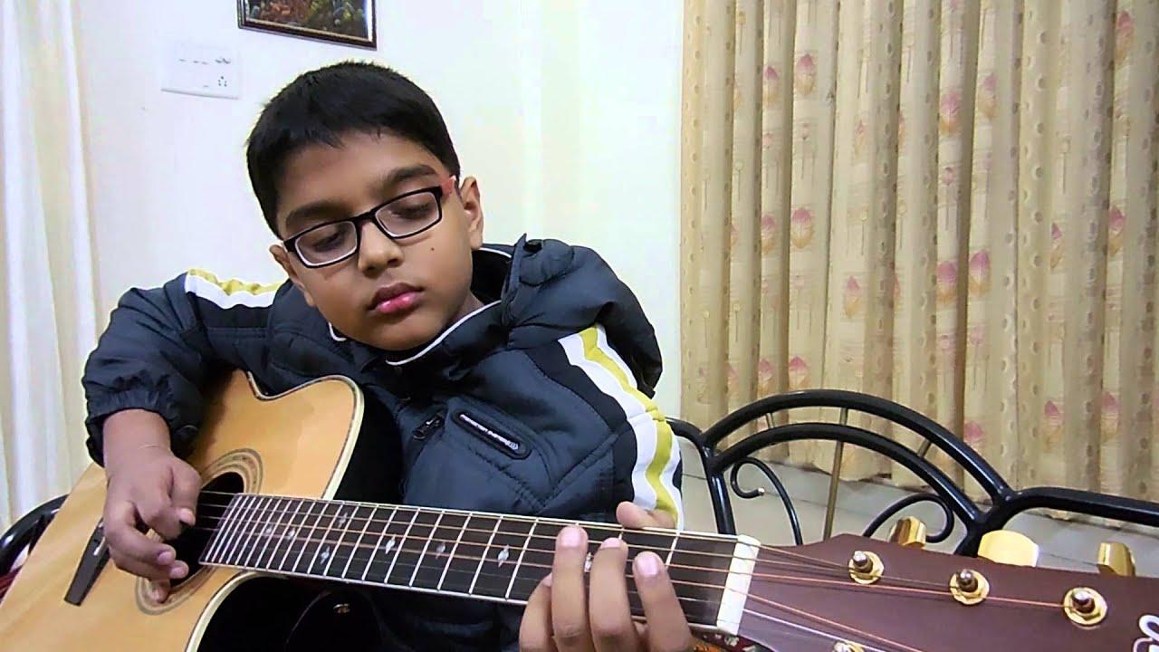 Lakdi Ki Kathi Masoom On Guitar By Vaibhav Youtube