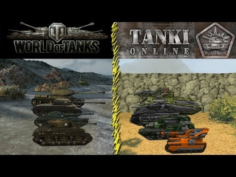 ИгроБатл [World of Tanks VS Tanki Online #1]