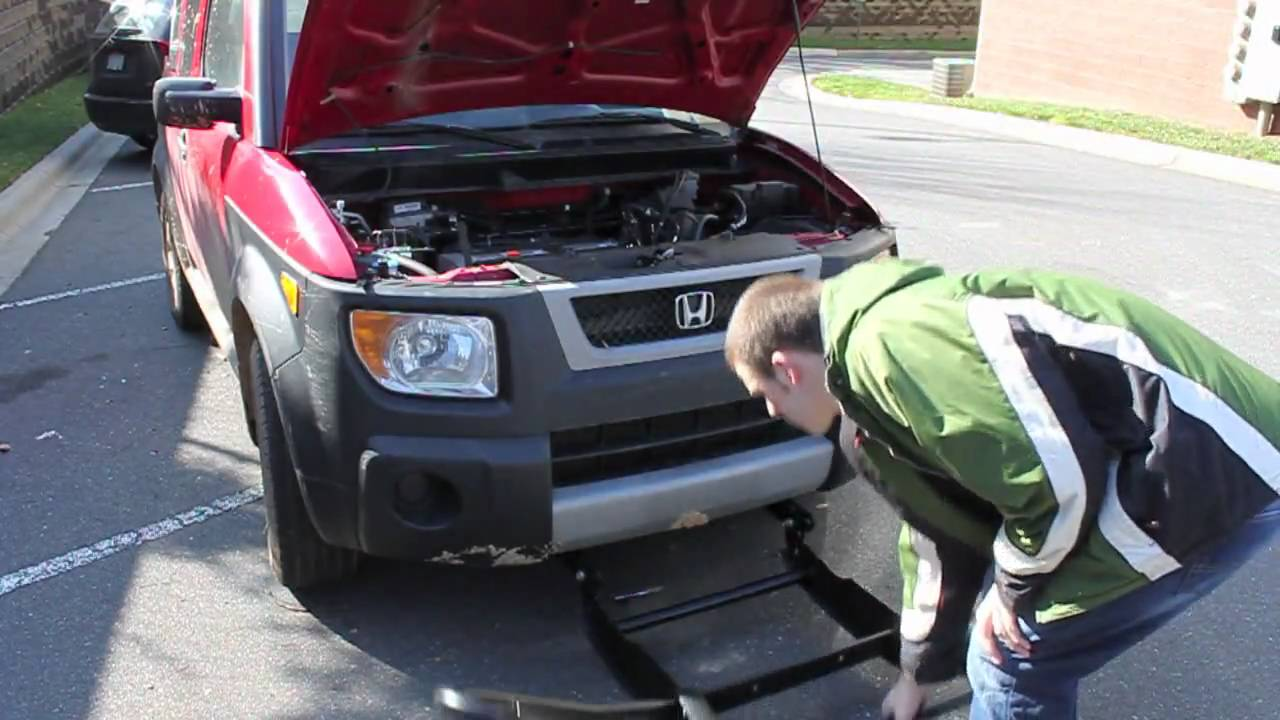 How To Install Hunter Brush Guard Honda Element Youtube