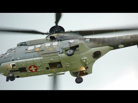 Best Helicopters in the World - Part 5 - AS532 Cougar