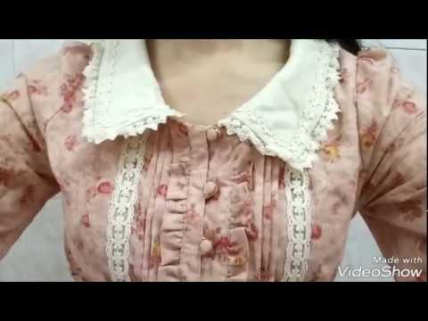 リズリサ購入品紹介ローズ花柄ワンピースピンク ver Liz Lisa Haul: Rose Flower Pink One Piece Dress