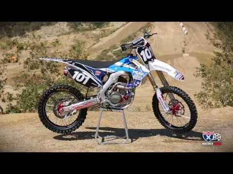 2014 Honda CRF250R Pro Circuit Peak Retro Look