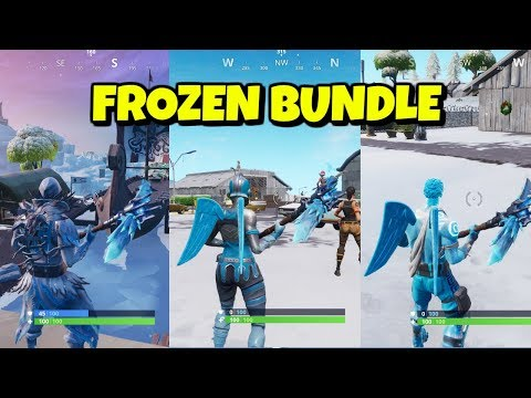 Frozen Legends Pack Gameplay in Fortnite