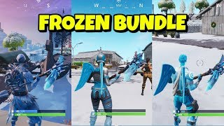 Frozen Legends Pack Gameplay in Fortnite