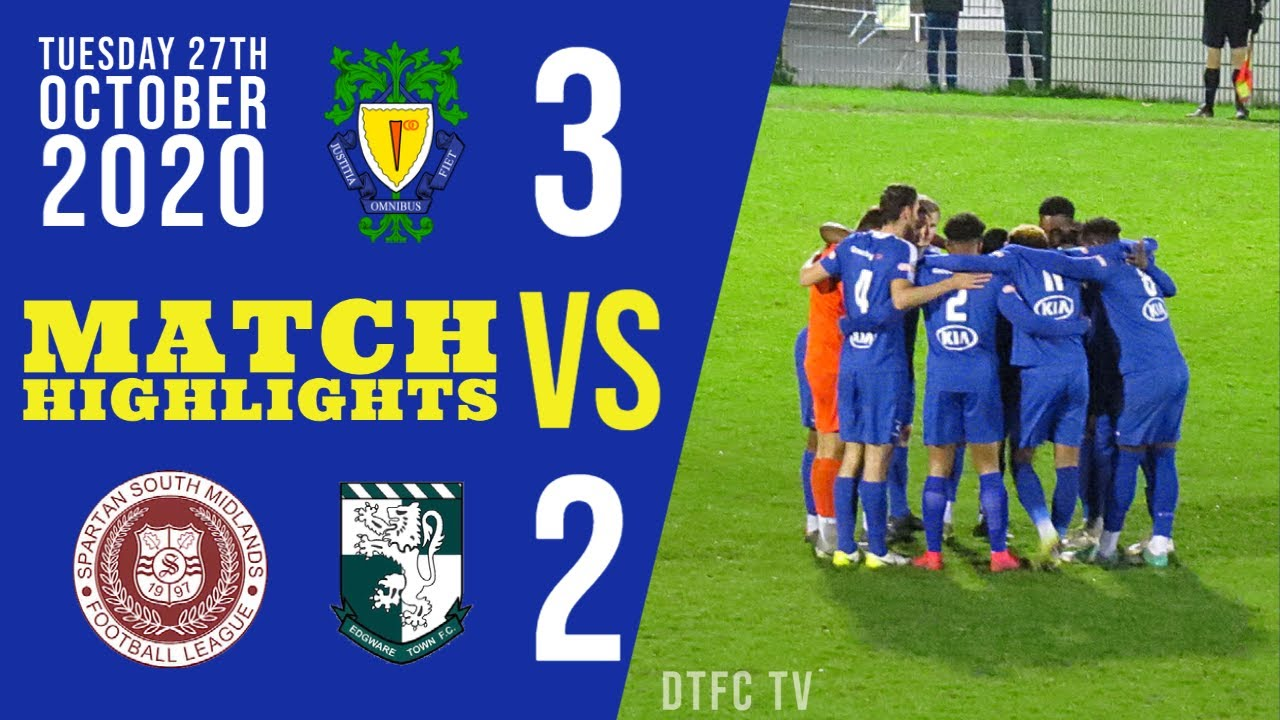 Dunstable Town F.C. vs Edgware Town F.C. (3-2) | League Highlights