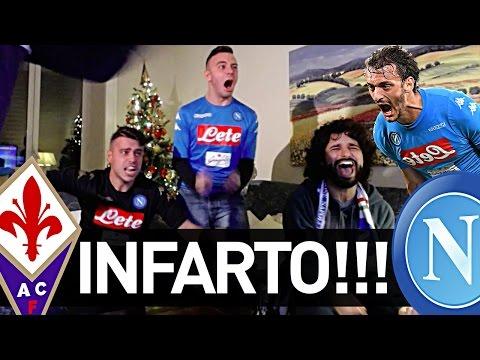 FIORENTINA 3-3 NAPOLI | PARTITA INCREDIBILE CON INFARTO FINALE! REAZIONE NAPOLETANI