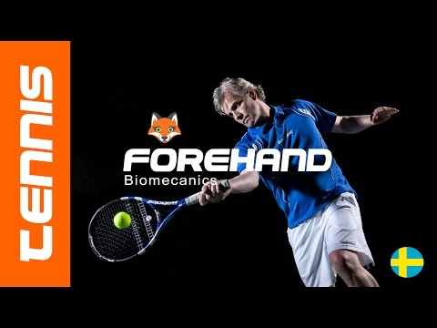TENNIS FOREHAND - More power and consistency with better biomechanics #1