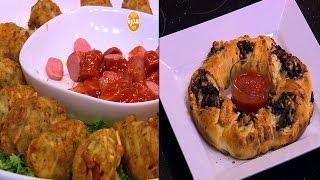 أوراك دجاج بالليمون - بطاطس بالسوسيس - لحم بالموتزاريلا ودبس الرمان  | الشيف حلقة كاملة