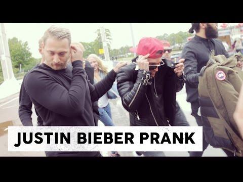 Gratis concert Ariana Grande - Justin Bieber prank | Gierige Gasten