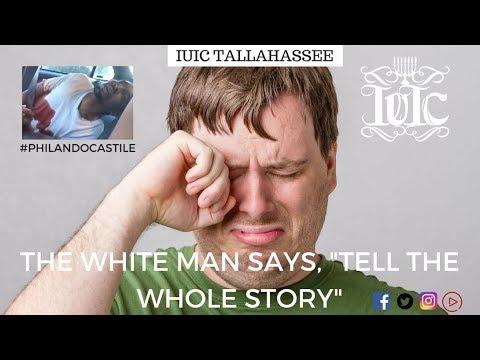 "The Israelites: The White Man Says, ""Tell The Whole Story""!!! #philandocastile"