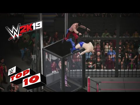 INSANE Elimination Chamber Match Moments: WWE 2K19 Top 10