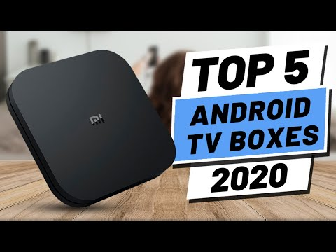 Top 5 BEST Android TV Box (2020)